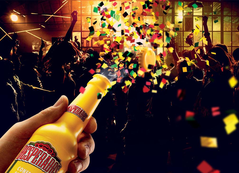 Desperados Confetti Shooter: VIVA LA FISSA!