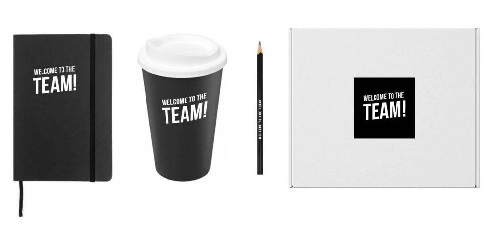 voorbeeld welkomstpakket-new-hire kit personeel offerte
