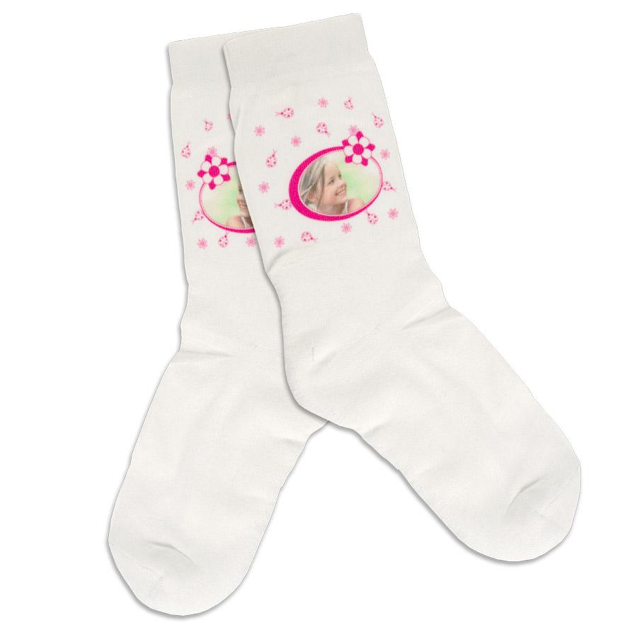 1 paar sokken bedrukken consumenten voorbeeld bedrukking