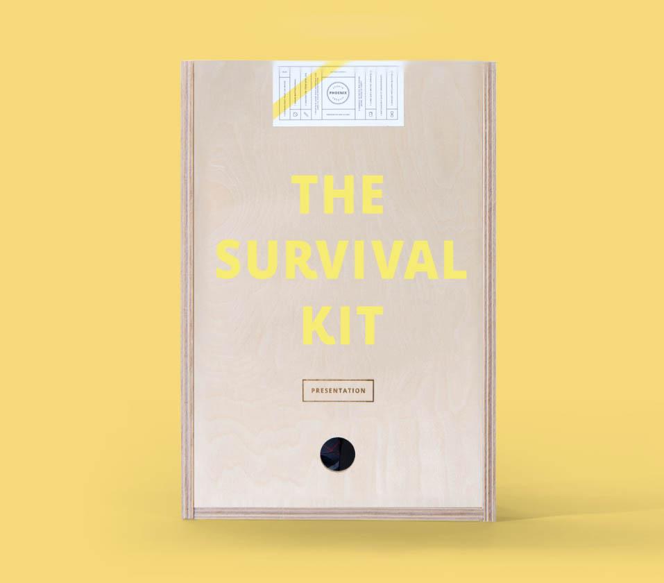 survival kit presentatie