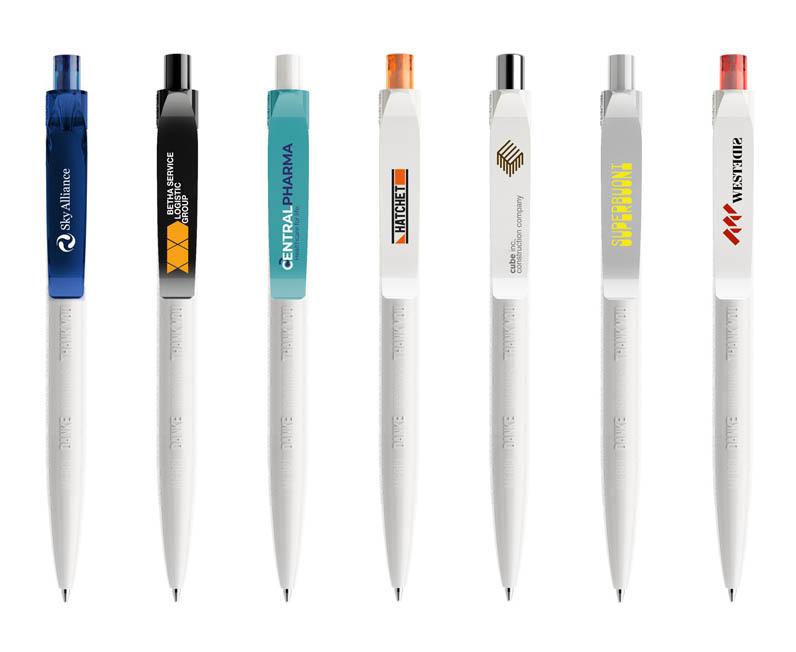 antibacteriele pennen bedrukt met logo bedrijven voorbeelden